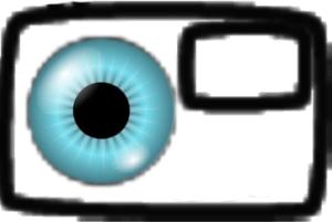 Logo koło fotograficzne